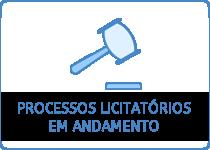 Processos licitatórios em andamento