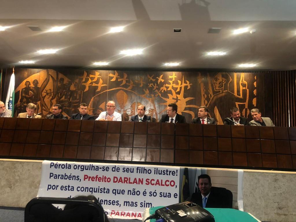 Edimar Santos, Prefeito de Santa Cecília do Pavão é eleito Vice-presidente da AMP