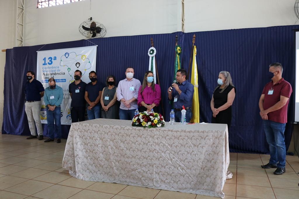SANTA CECÍLIA DO PAVÃO REALIZA A XIII CONFERÊNCIA MUNICIPAL DE ASSISTÊNCIA SOCIAL