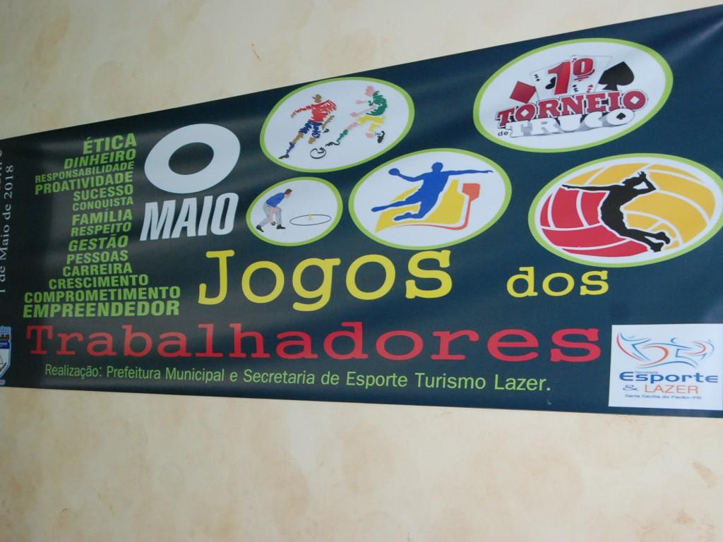 Fotos COMEÇAM OS JOGOS DOS TRABALHADORES