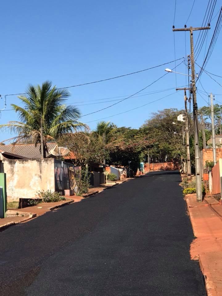 Fotos MICROPAVIMENTO AVANÇA NOS BAIRROS E RUAS DE SANTA CECILIA DO PAVÃO