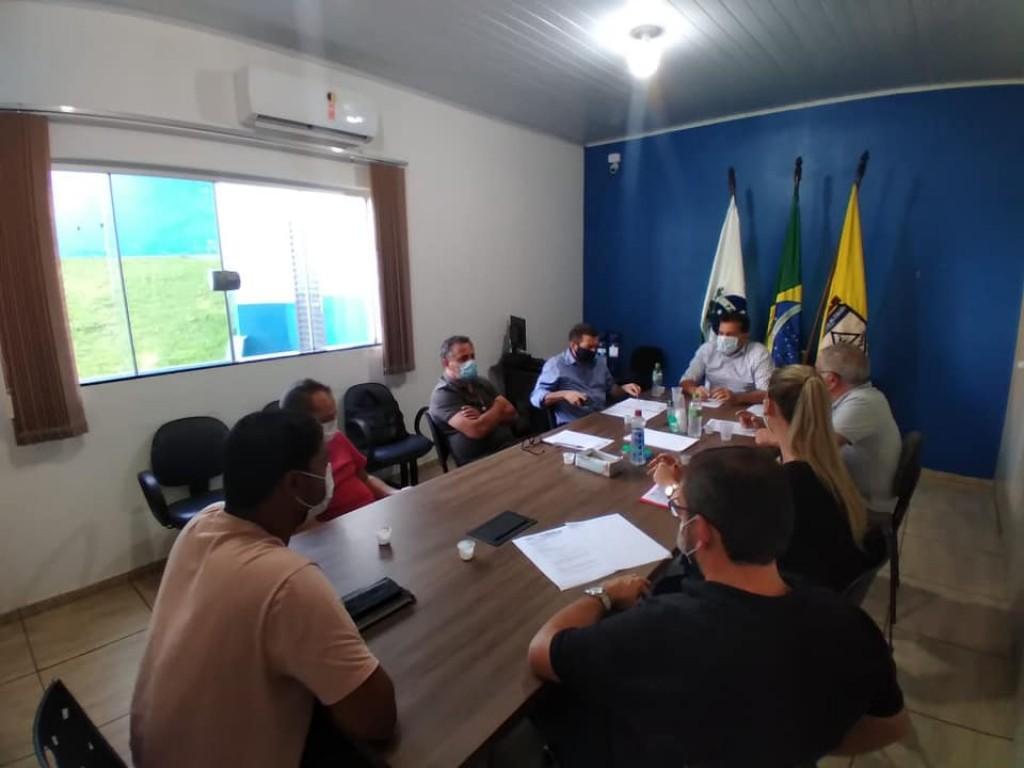 Fotos REUNIÃO DO CODENOP EM SANTA CECÍLIA DO PAVÃO - 23/02/2021