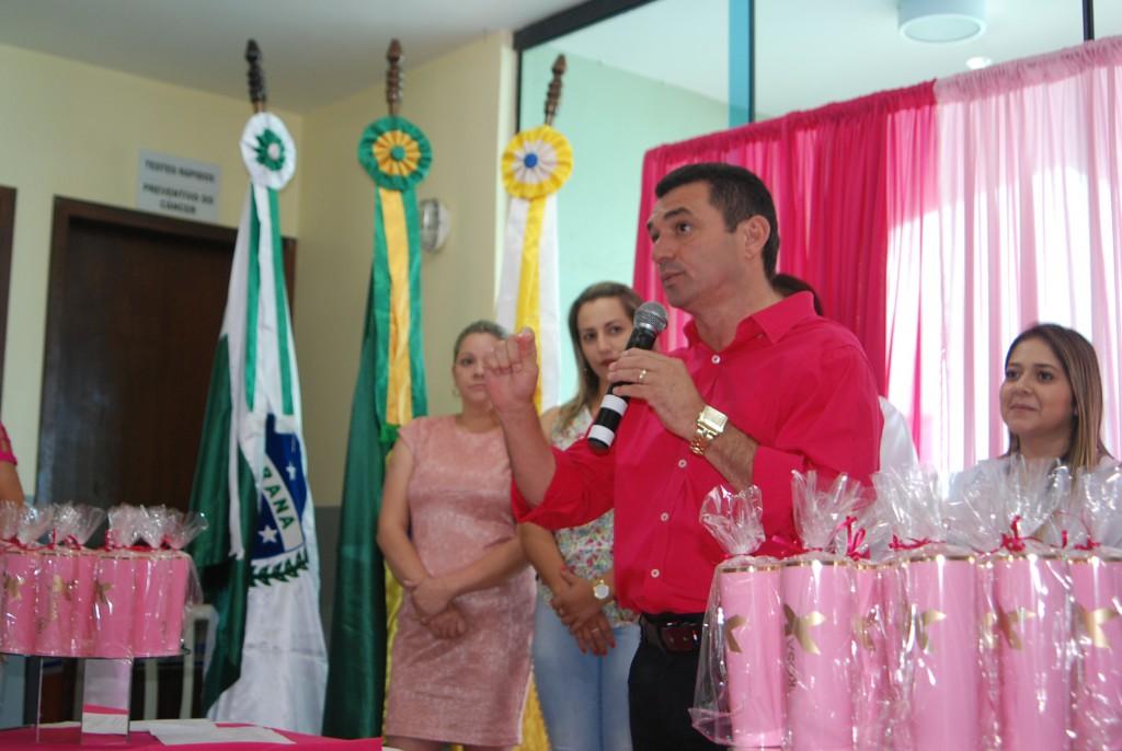 Fotos LANÇAMENTO DA CAMPANHA OUTUBRO ROSA
