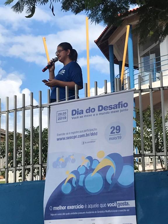 SANTA CECÍLIA DO PAVÃO PARTICIPA DO DIA DO DESAFIO 2019