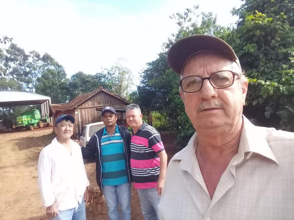 MANUTENÇÃO DAS ESTRADAS RURAIS SEGUE EM RÍTIMO ACELERADO