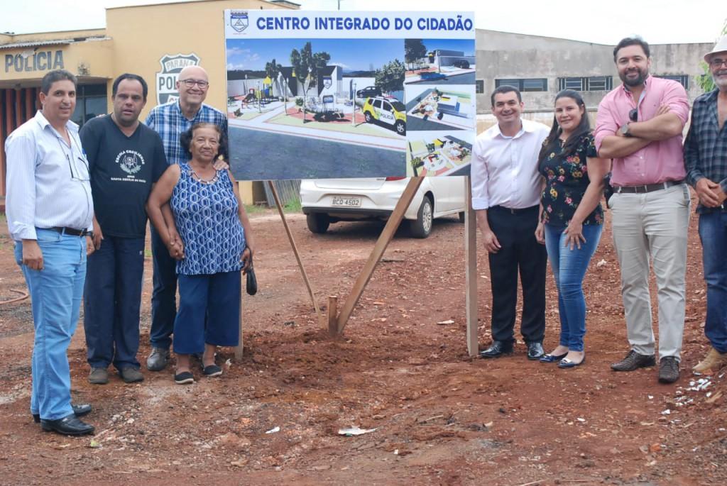 PREFEITURA MUNICIPAL DA INÍCIO AS OBRAS CENTRO INTEGRADO DO CIDADÃO