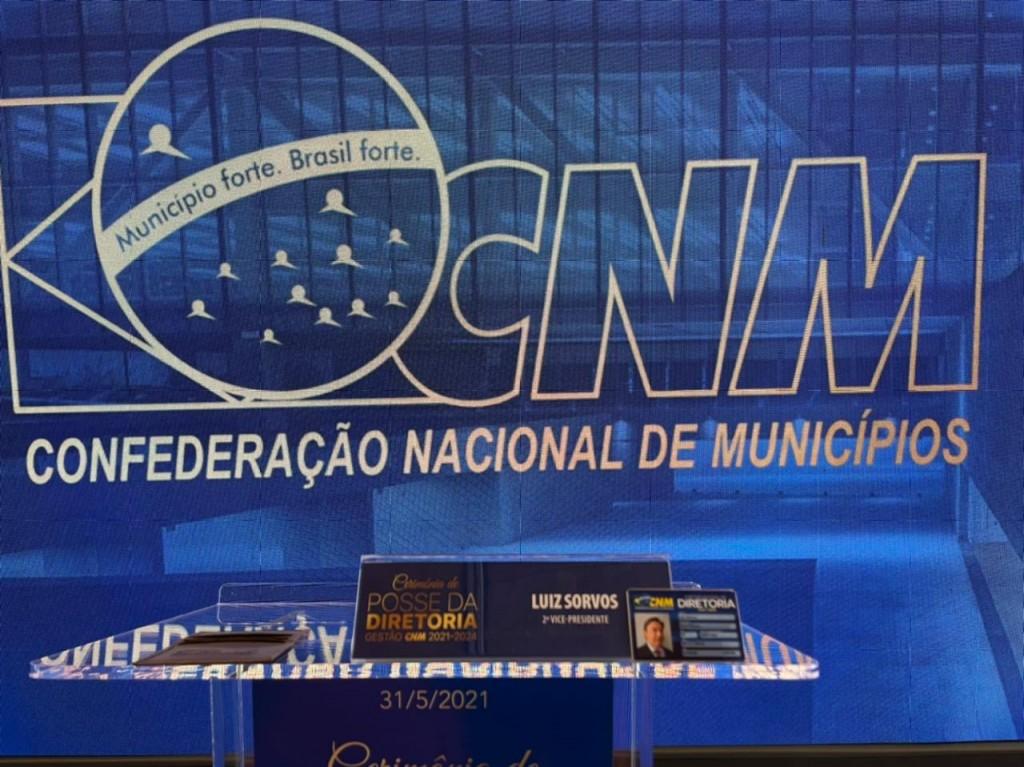 Fotos EM BRASÍLIA, PREFEITO EDIMAR ACOMPANHA POSSE DA NOVA DIRETORIA DA CNM