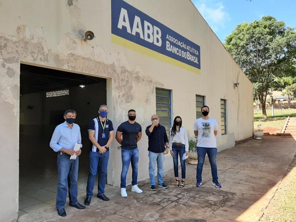 Fotos SANTA CECÍLIA DO PAVÃO RECEBE VISITA DO DIRETOR PRESIDENTE DA PARANÁ ESPORTE, WALMIR MATOS
