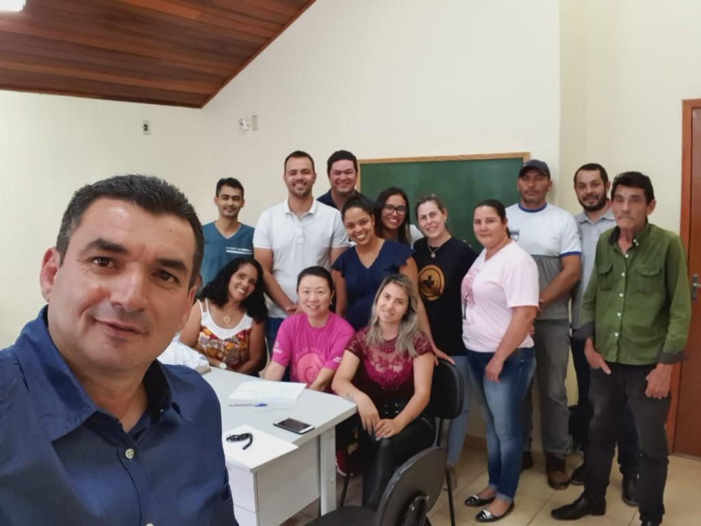 PREFEITO REÚNE COM CONSELHEIROS E PROFISSIONAIS DA SAÚDE