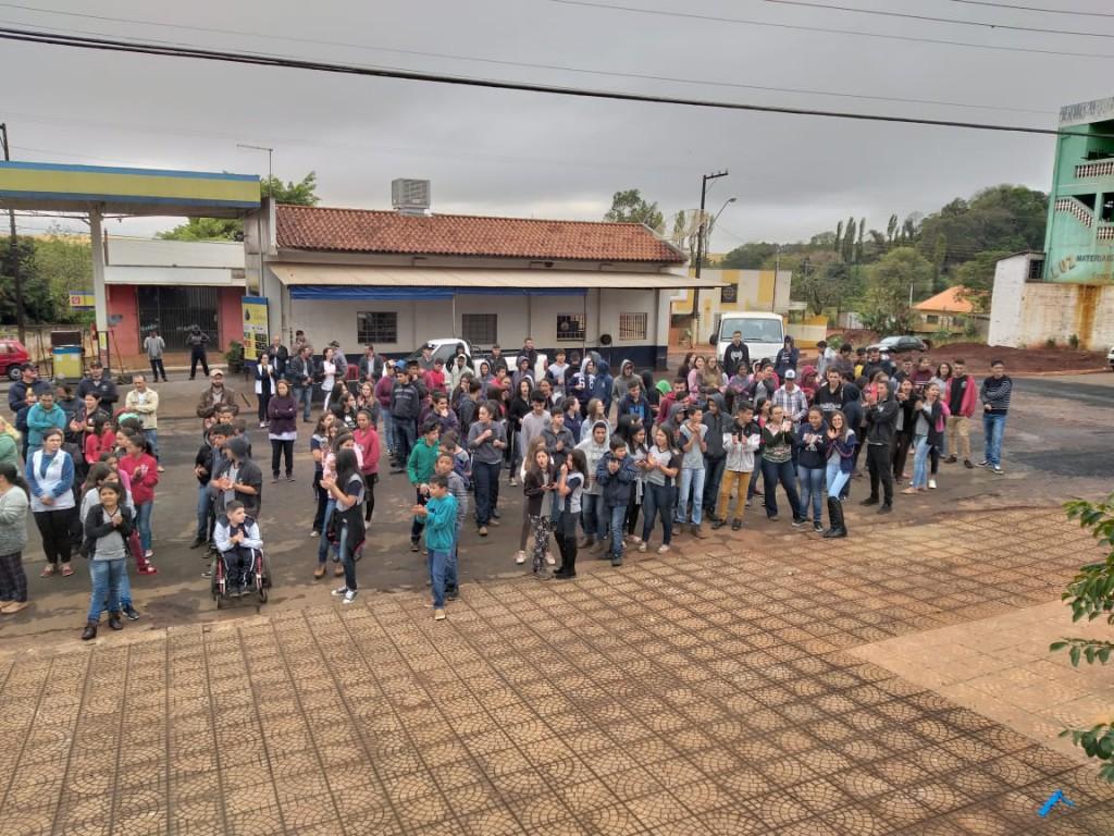 ABERTURA DA SEMANA DA PÁTRIA EM SANTA CECÍLIA DO PAVÃO