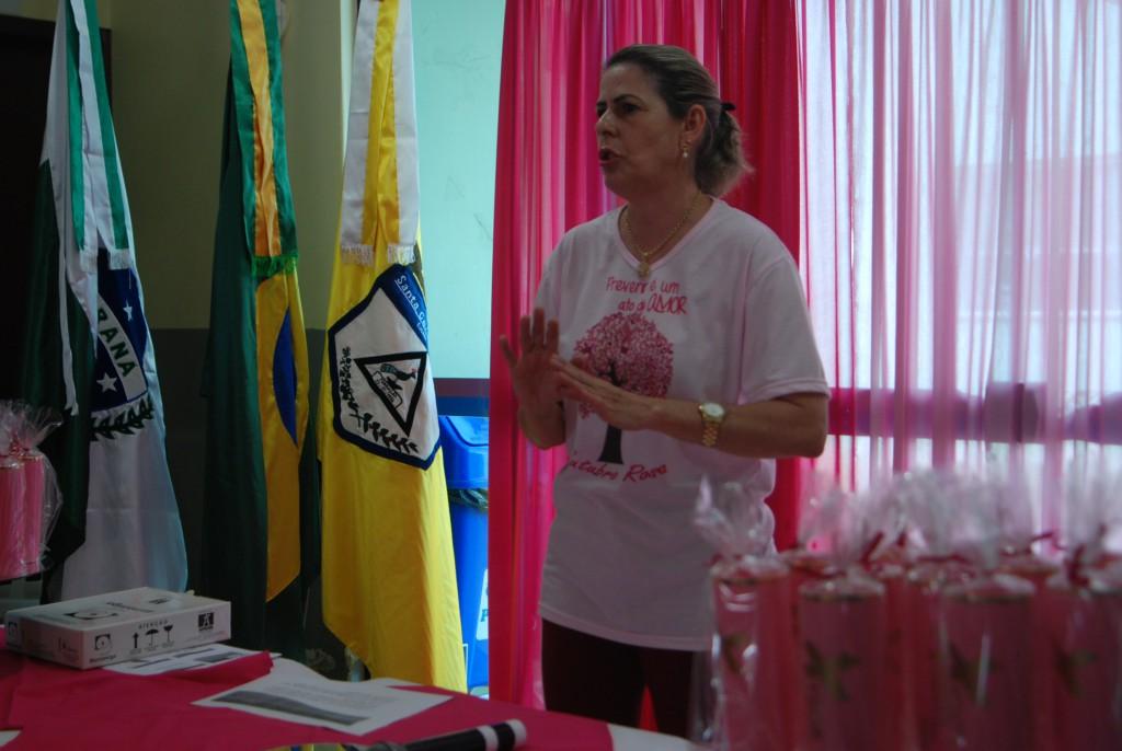 LANÇAMENTO DA CAMPANHA OUTUBRO ROSA
