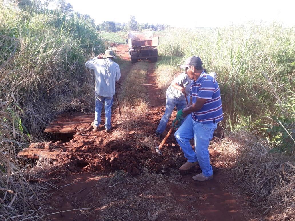 Fotos PONTE DA ÁGUA DO PROCÓPIO É RECONSTRUÍDA.