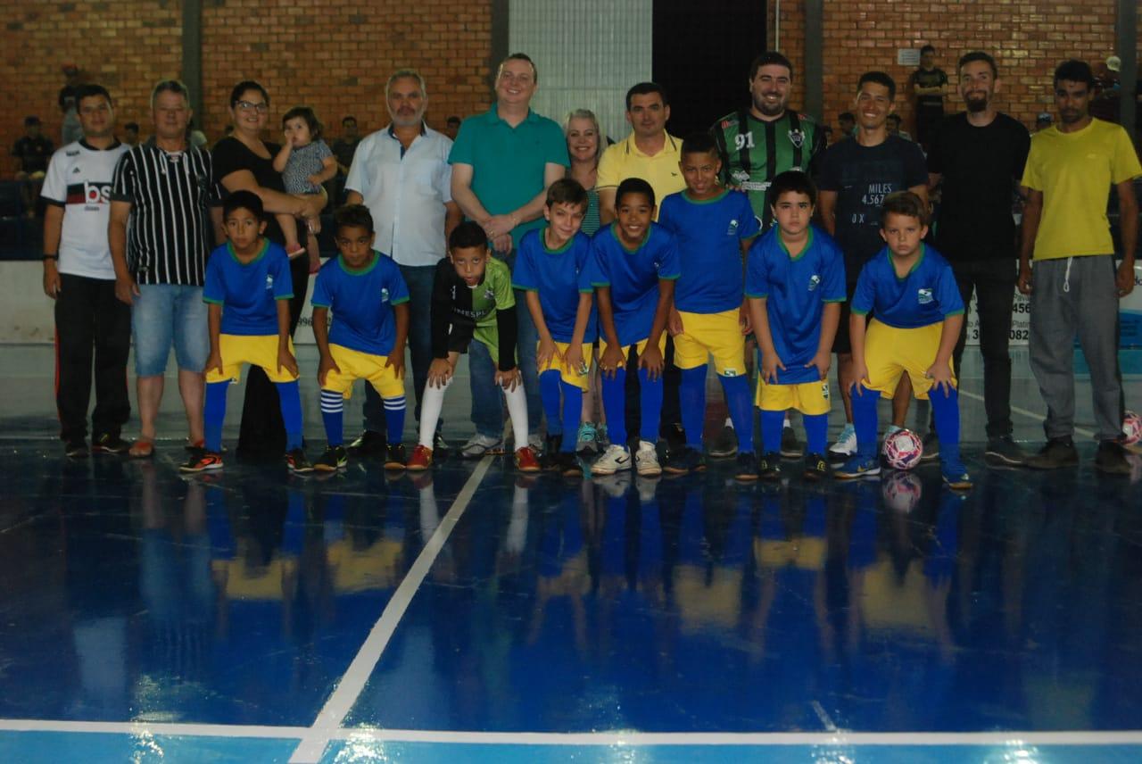 PREFEITURA FAZ ABERTURA DO CAMPEONATO REGIONAL DE FUTSAL 2019