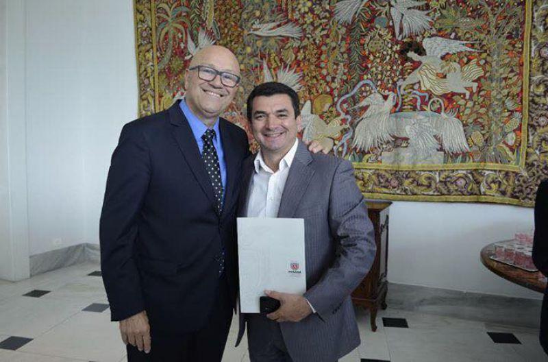 ROMANELLI e MESQUITA confirmam materiais para reforma da delegacia em Santa Cecília do PavÃO.