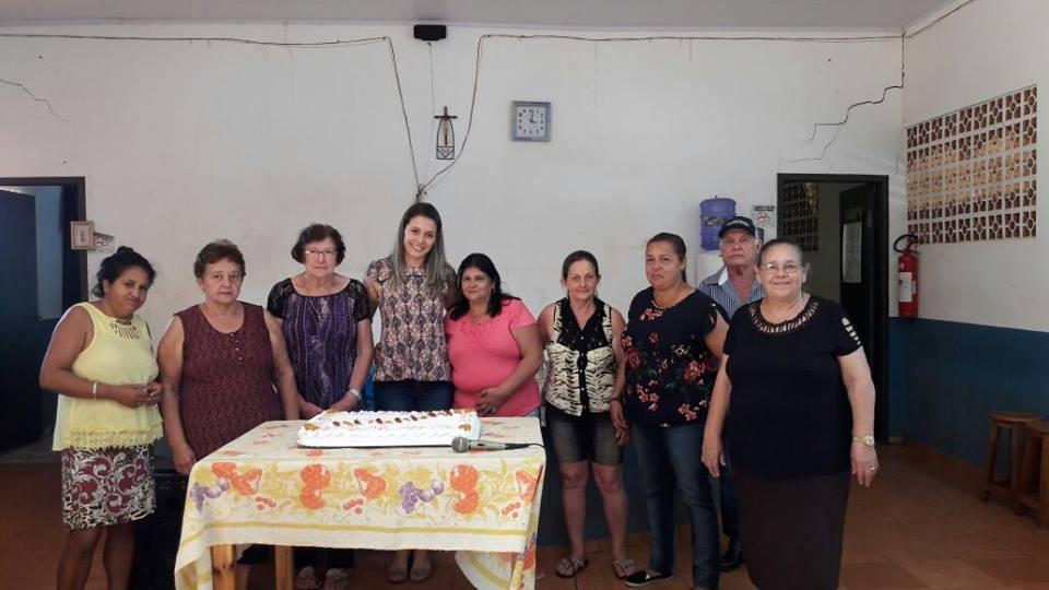 REUNIÃO DO MÊS DE ABRIL DA MELHOR IDADE