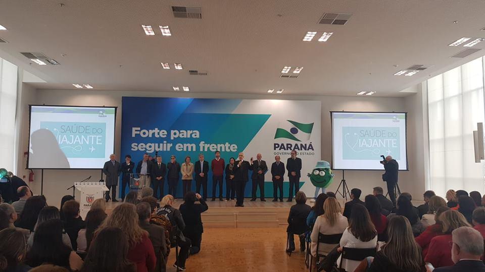 AGENDA DO PREFEITO: EM CURITIBA, PREFEITO EDIMAR PARTICIPA DE EVENTO DE LIBERAÇÃO DE RECURSOS PARA A SAÚDE