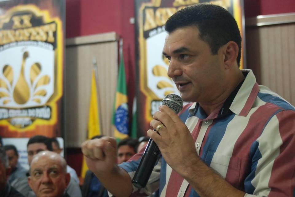 PREFEITO EDIMAR SANTOS LANÇA OFICIALMENTE XX AGROFEST