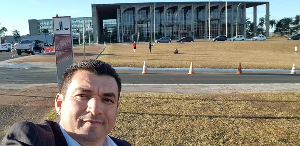 PREFEITO EDIMAR NOS MINISTÉRIOS EM BRASÍLIA