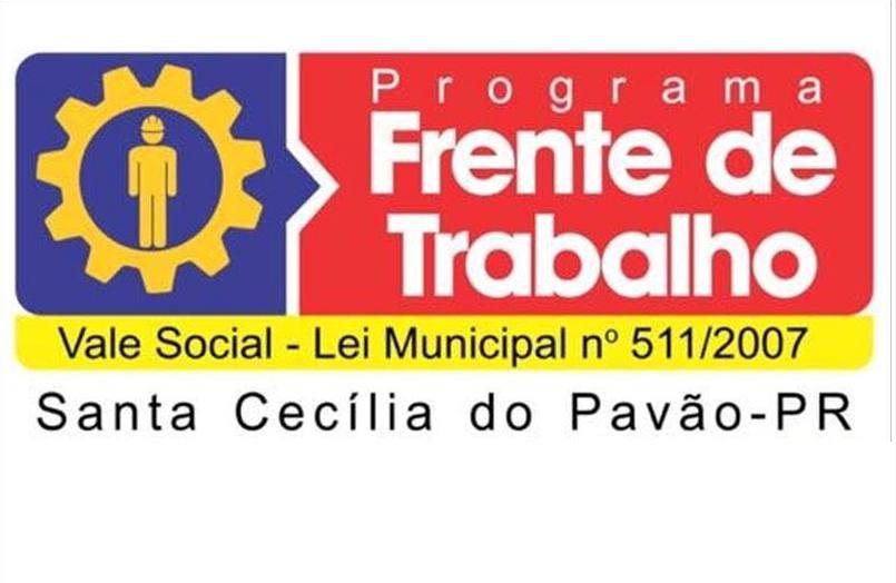 PREFEITURA ABRE INSCRIÇÕES PARA A FRENTE DE TRABALHO - VALE SOCIAL 2021 PARA MORADORES DO MUNICÍPIO