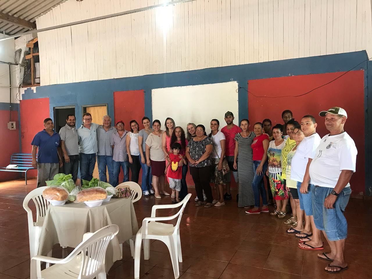 CAFÉ DA MANHÃ DOS BENEFICIÁRIOS DO PROGRAMA FRENTE DE TRABALHO DE NOVEMBRO.