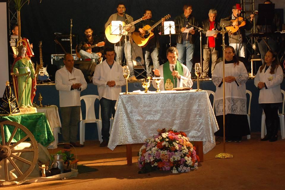 MISSA EM AÇÕES DE GRAÇAS AOS 58 ANOS DE SANTA CECILIA DO PAVÃO