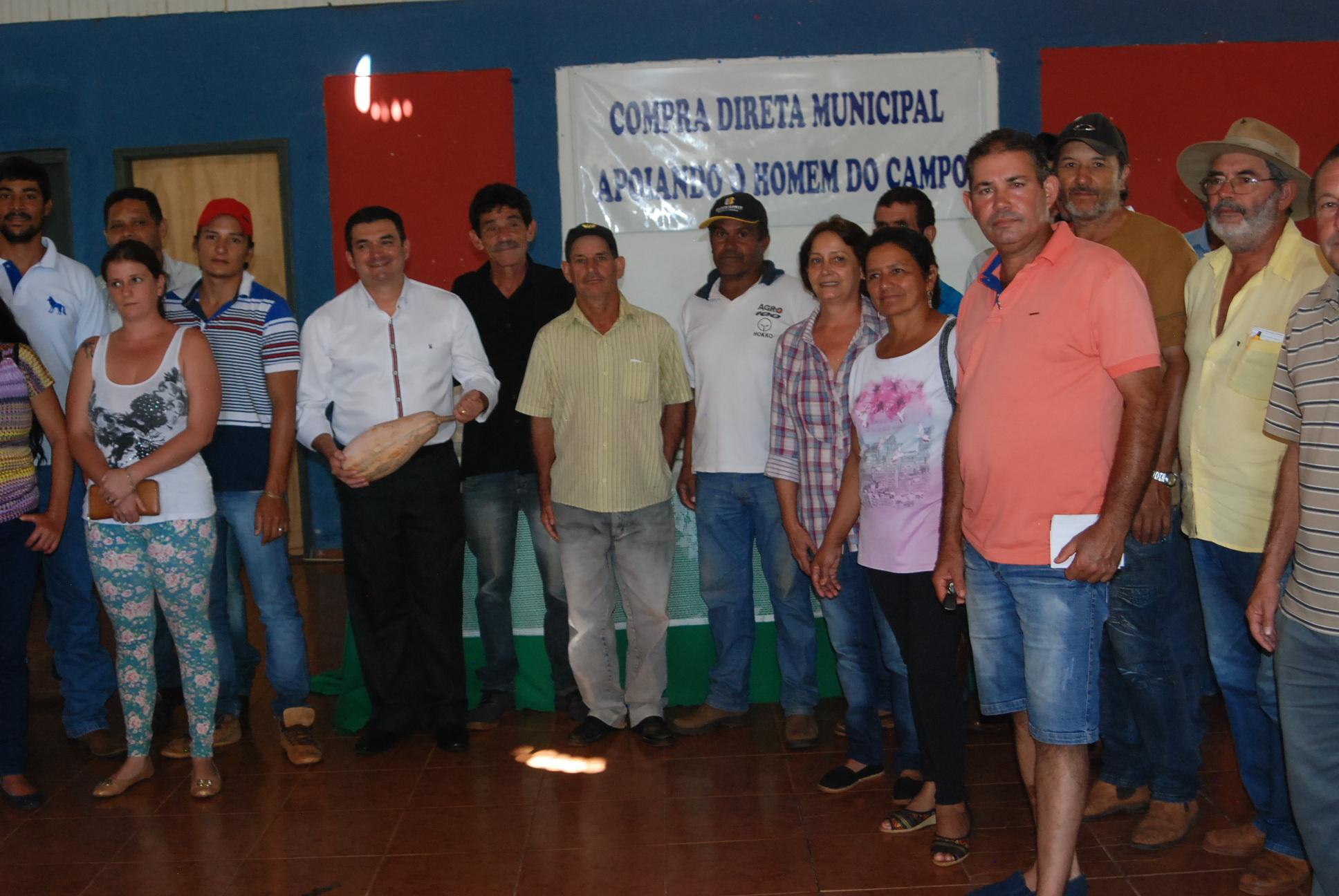 Compra Direta Municipal é lançada em Santa Cecília do Pavão