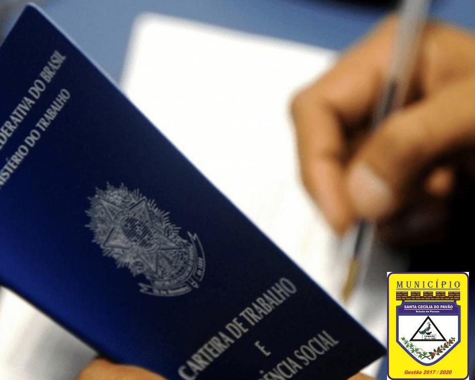 SANTA CECÍLIA DO PAVÃO TEM A MAIOR GERAÇÃO DE EMPREGO NA REGIONAL CORNÉLIO PROCOPIO