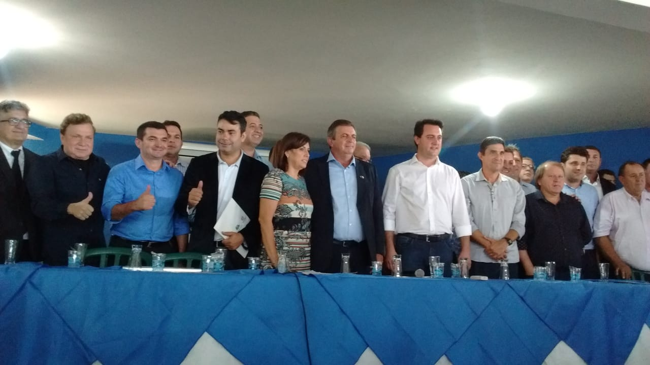 Prefeito Edimar Santos participa da Posse do novo Presidente da AMUNORPI